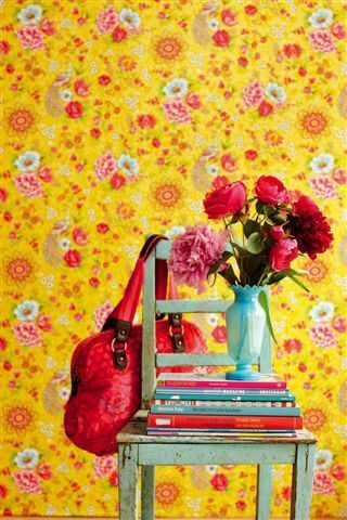 Living Well: I fell in love wallpaper!