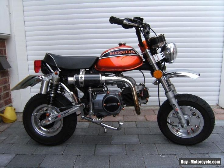 Custom Honda Z50A Monkey Bike 125cc #honda #z50 #forsale #unitedkingdom