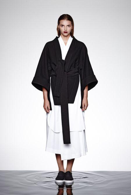 Short kimono jacket : Keta Gutmane