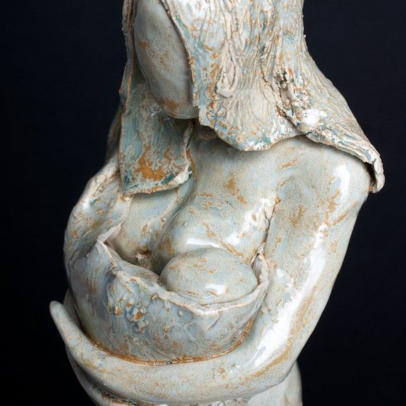 A Mother's Connection Sculpture by ElizabethBonura on Etsy, $250.00