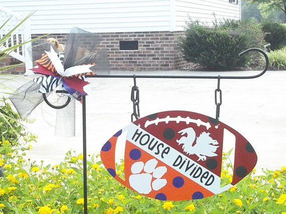 House Divided Sign by atmiles on Etsy, $35.00 - I like the diagonal version