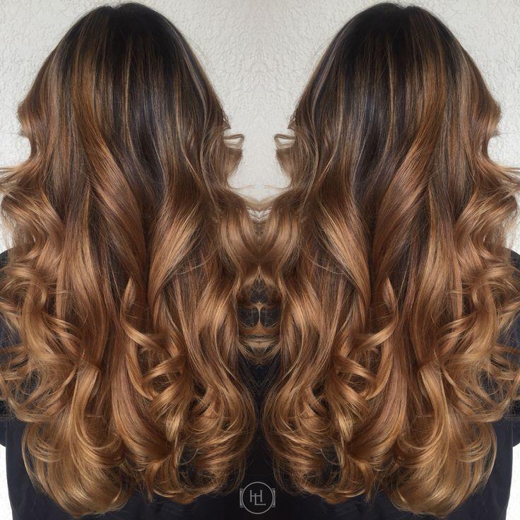 Caramel Balayage Ombr 233 Hairlegacy Hair By Emilio V