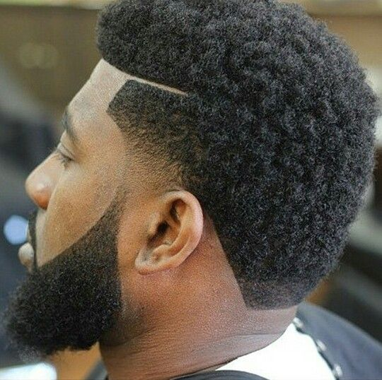 Black men facial hair styles