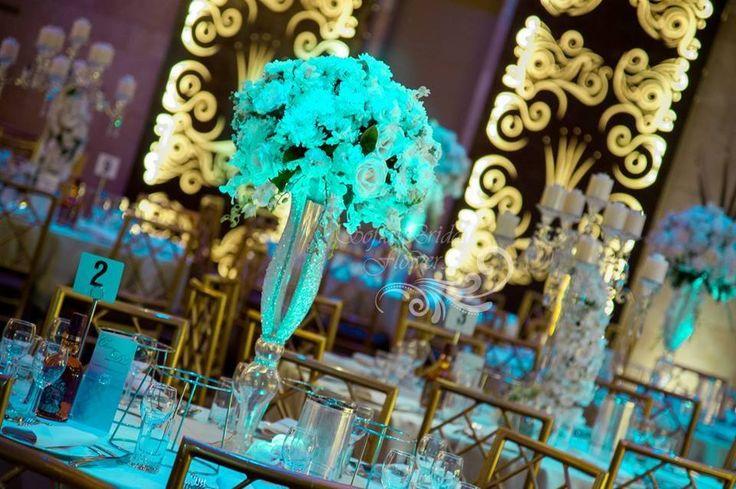 Hand Jewelled Vases info@elanakweddings.com.au