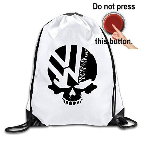 #amazing #LCNANA #Volkswagen Logo With Punisher Skull Symbol Fabric: Polyester Fiber (polyester) 100%.Size:Height: 43cm Width: 36cm.Product Description: 210D Po...