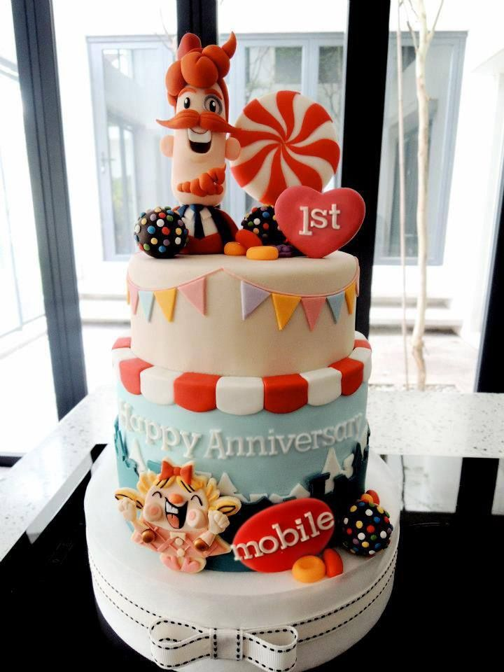 Candy Crush Cake Ideas