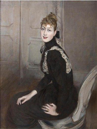 Ritratto della marchesa Franzoni, 1892,Boldini