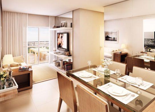 Decora o para sala de estar e jantar pequenas integradas - Salas de estar pequenas ...