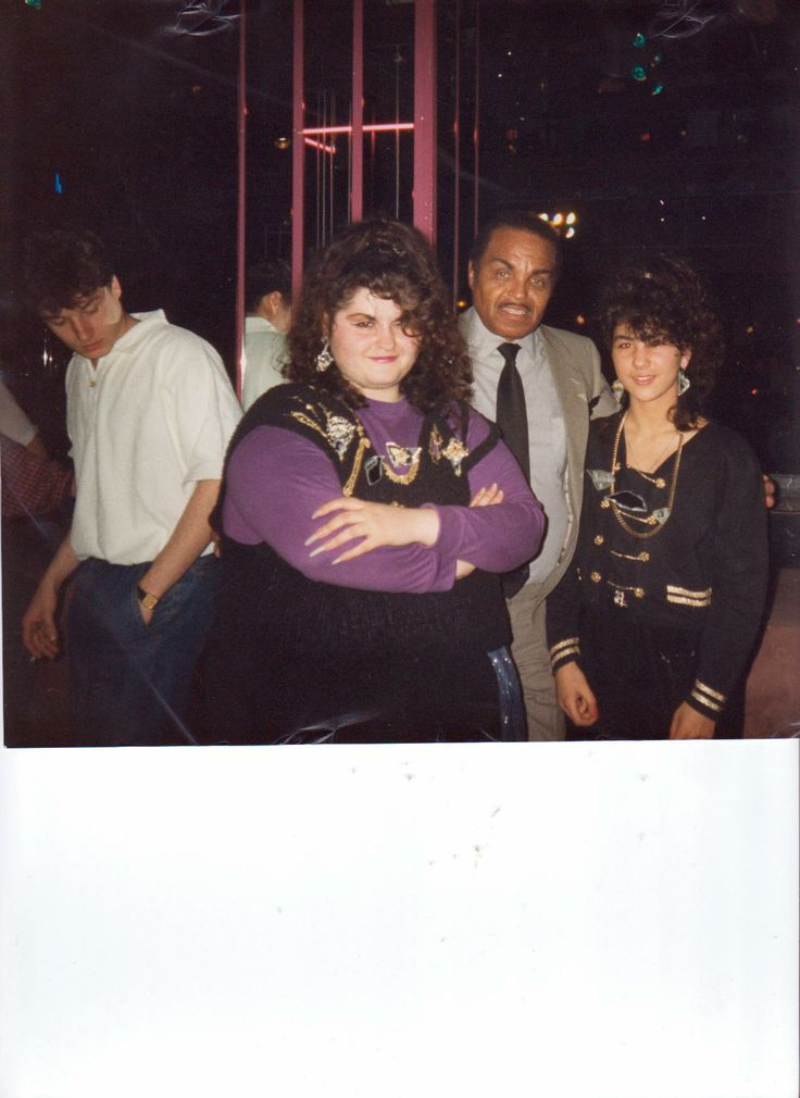 ST.Zula Sevasti Tsomaridou Singer & Actress with Joseph Jackson The Vather from Michael Jackson