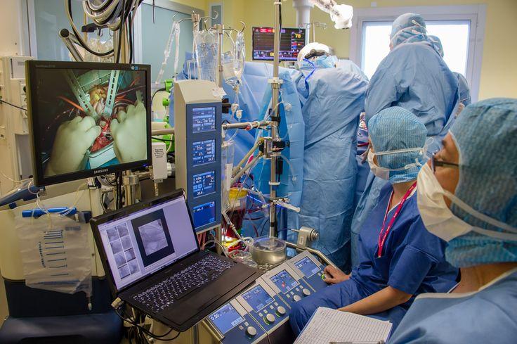 Bloc Opératoire | Unité de cardiologie et de chirurgie cardiaque Jacques Cartier