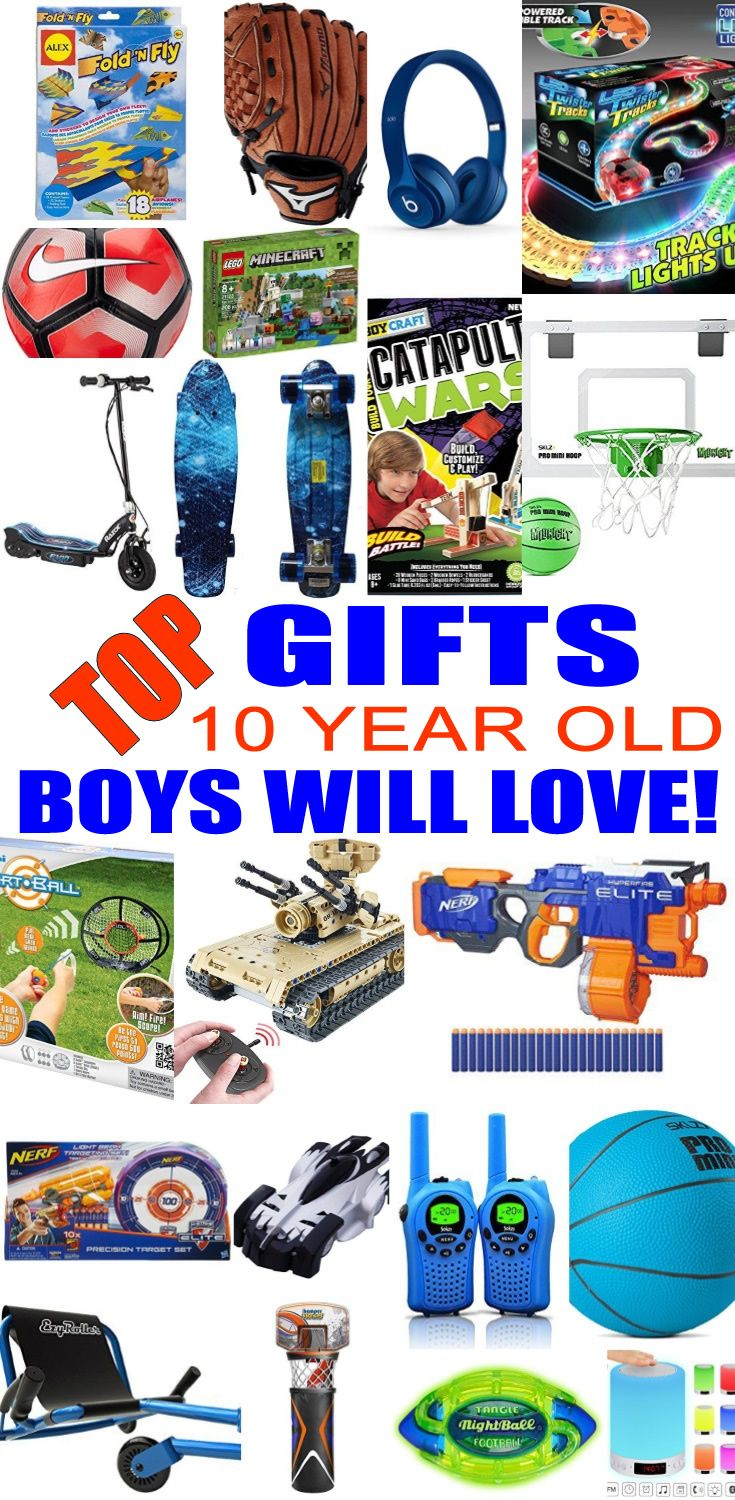 Best Gifts 10 Year Old Boys Want | Christmas gifts for 10 ...