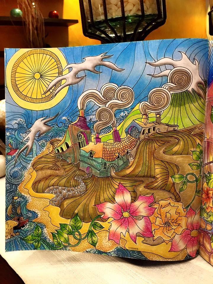 Facebook Photophpfbid Magic CityAdult ColoringColoring BooksRaveColoursBooks