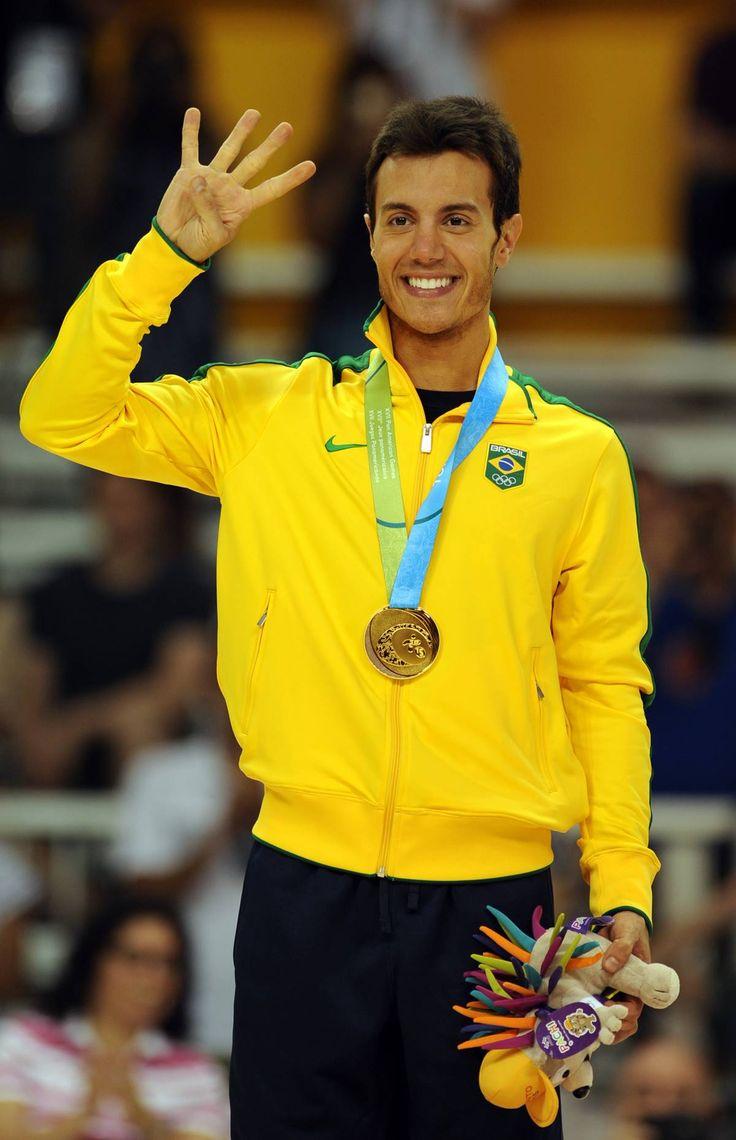 Medalhistas brasileiros nos Jogos Pan-Americanos de Toronto - OURO - PATINAÇÃO ARTÍSTICA MASCULINA Marcel Stürmer.12/54 SLIDES © Foto: Getty Images