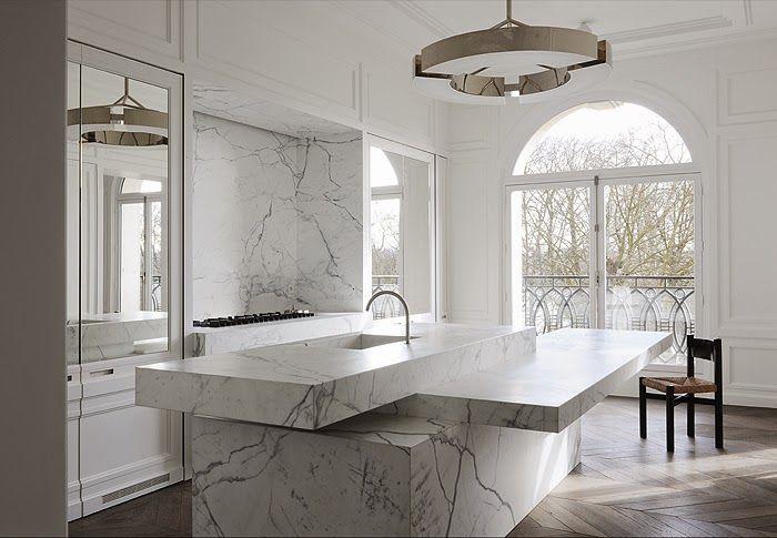valérie adoooore: L'appartement de Neuilly conçu par Joseph Dirand avec la cuisine qu'il a réalisée pour Obumex, what else !