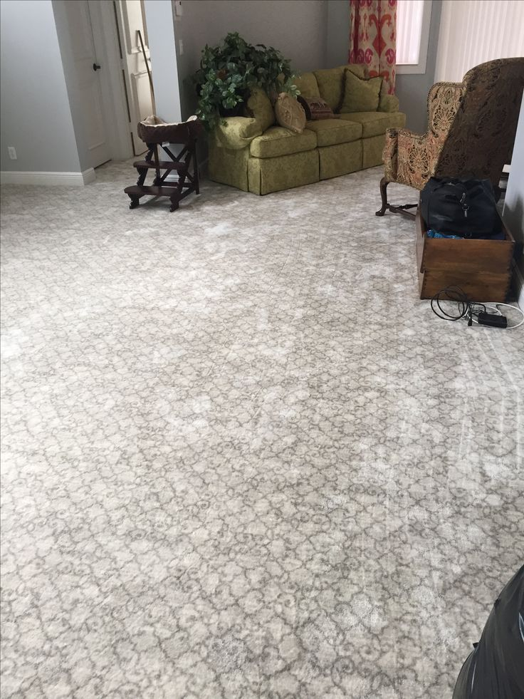 Stanton London Town Dove printed nylon carpet installed in a master bedroom.
