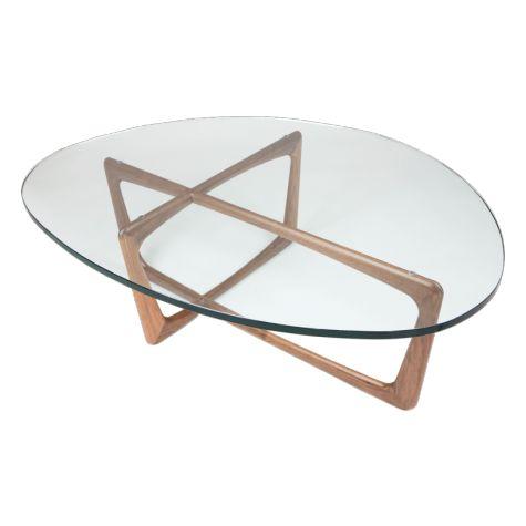 Asymmetric Scandinavian Sculptural Art Vlad Coffee Table
