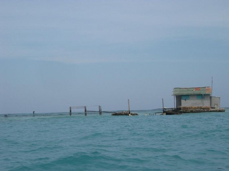 Beautiful Islas del Rosario near #Cartagena, Colombia, December 2011