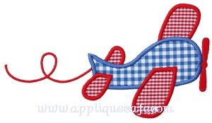 Airplane 2 Applique Design