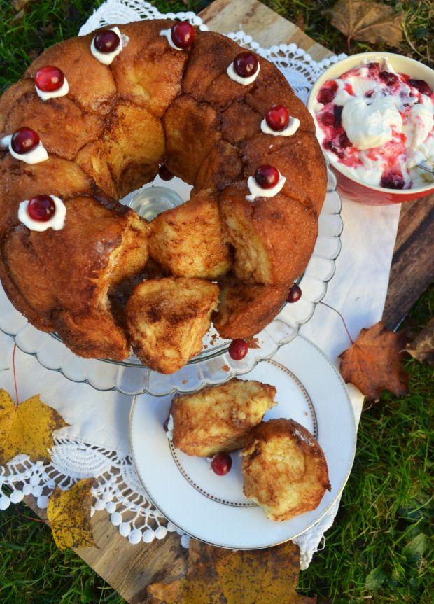 Backt euch glücklich! Monkey Bread oder einfach Zimtzucker-Zupfkuchen! |