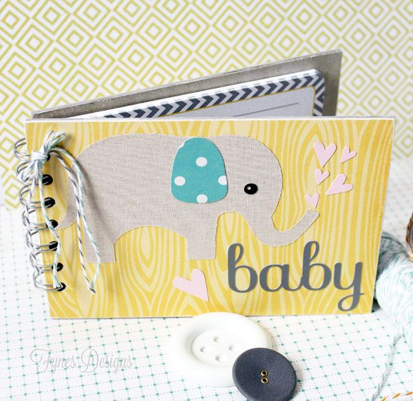 Cute Elephant themed baby shower activity book! Next diy project.