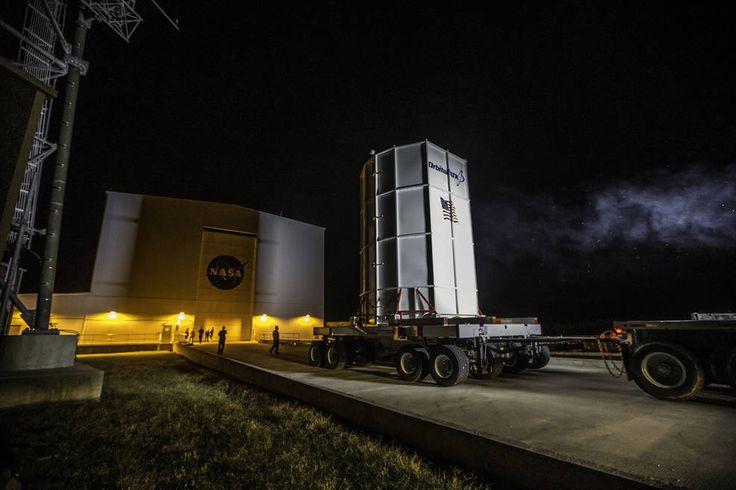 Oct. 11, 2016 MEDIA ADVISORY M16-119 Atlantic Storm System Delays NASA Resupply Launch to Space Station Orbital ATK's Cygnus spacecraft arrived on Oct. 2, 2016 at the Horizontal Integration Facility at NASA's Wallops Flight Facility
