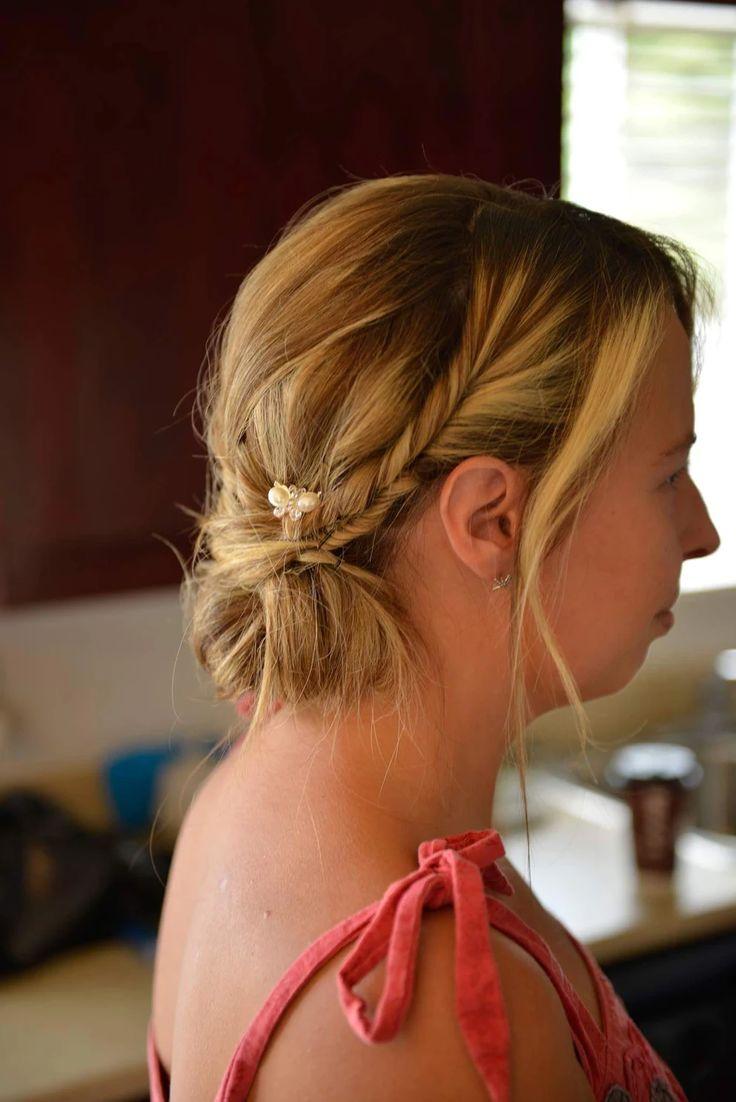 Wedding hair By Brigitte Castonguay