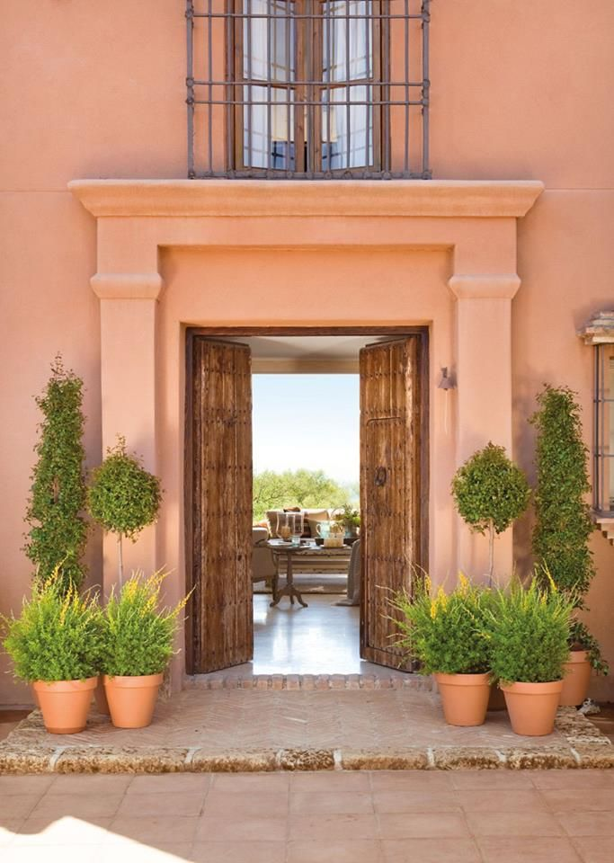Tuscan Villa • #dreamy #simple #stunningview