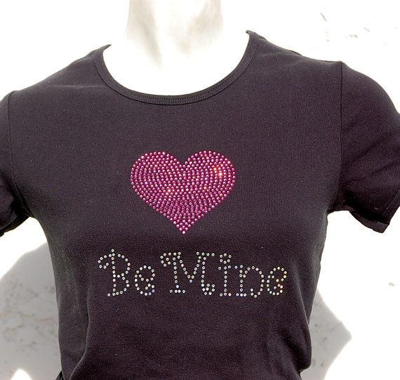 Rhinestone Valentines Day Shirts By BlingNInk On Etsy 23