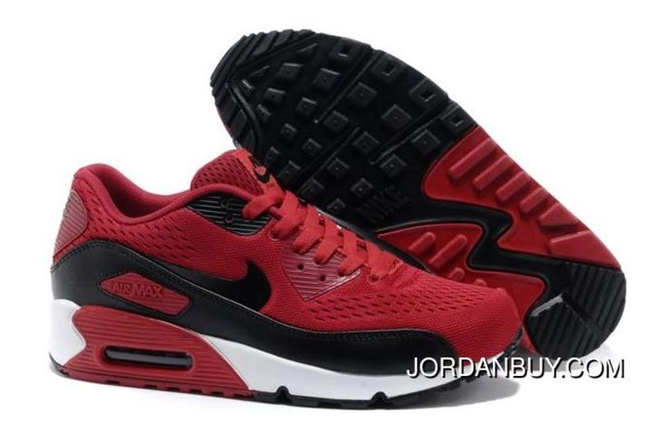 http://www.jordanbuy.com/latest-air-max-90-premium-em-mens-shoes-red-black-shoes-online.html LATEST AIR MAX 90 PREMIUM EM MENS SHOES RED BLACK SHOES ONLINE Only $85.00 , Free Shipping!