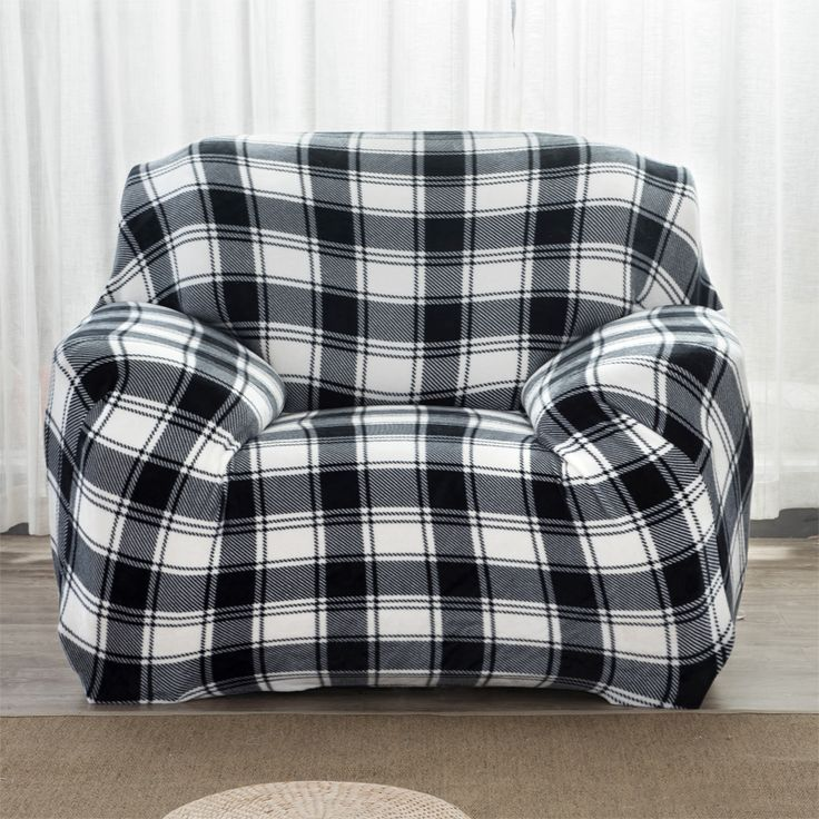 LFH Thick Velvet Plush Sofa Slipcover Stretch Fashion couch cover Anti-Mite Manta Warm Use Drawing Room