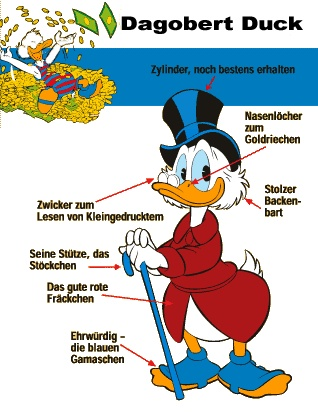 Willkommen bei der größten Dagobert Duck ( Scrooge MCDuck ) Page Europas !
