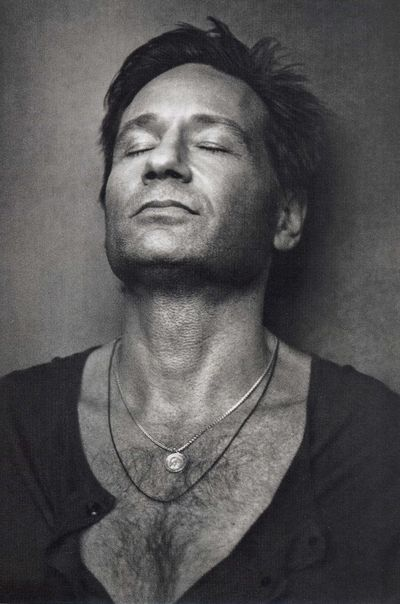 David Duchovny-once again sexy not necessarily cute