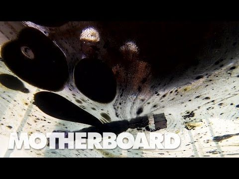 The Magnetic Wand That Cleans Oil Spills: Upgrade - YouTube