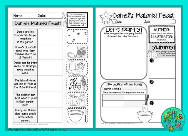 Best Matariki books for Primary +  FREE follow activity sheets  {Green Grubs Garden Club Blog}