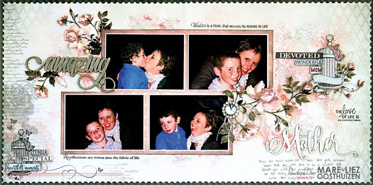 Penelope Dee MOTHER OF PEARL Double-page layout by Mare-Liez Oosthuizen