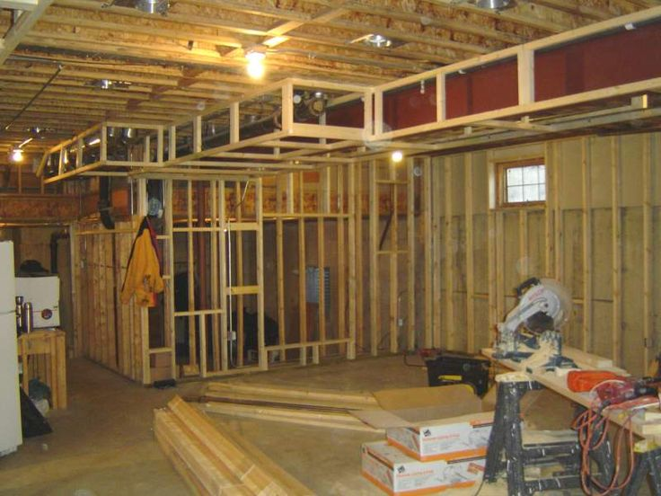 Unfinished Basement Before And After