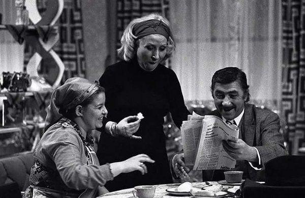 """""""Kaynanalar"""" (1974) #birzamanlar #istanlook #nostalji"""