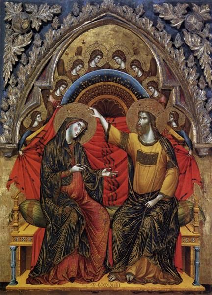 Coronation of the Virgin, 1324 - Paolo Veneziano