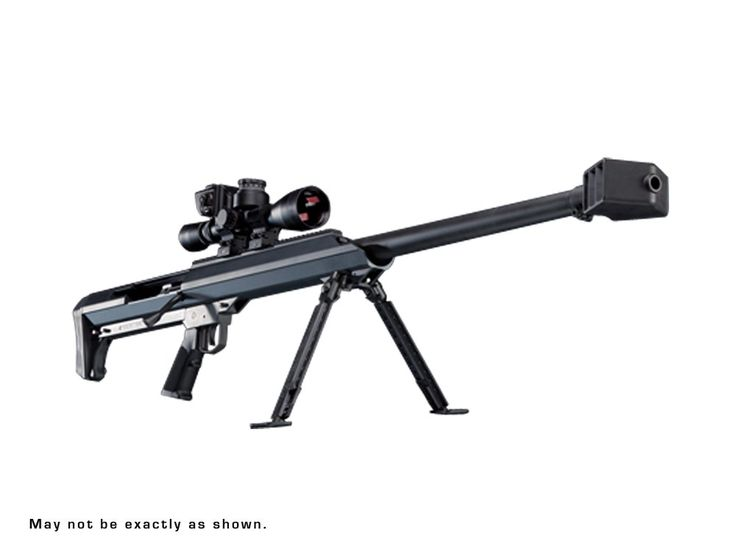"""Wolverine Supplies - Online Gun Store   Product Details   Barrett M99 .50 BMG Lapua Mag. 32"""" With BORS and Leupold Scope & Rings"""