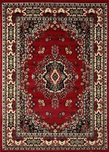 Home Dynamix Ariana 3 Piece Set Area Rug Claret By Home Dynamix,