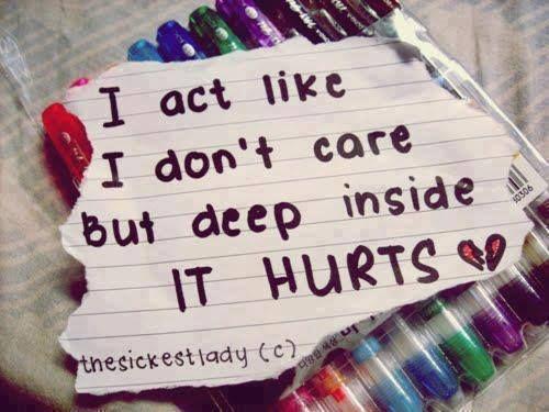#Truth It hurts
