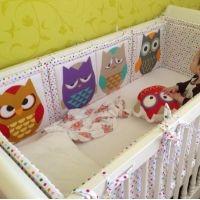Фото украшений на детскую кроватку 11