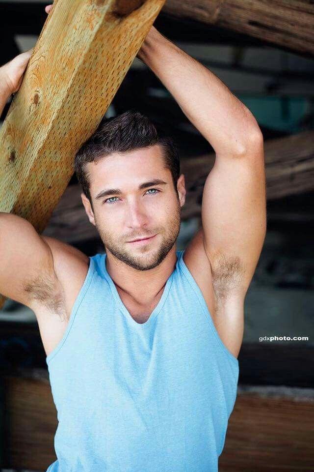 hair less men armpit Gay have