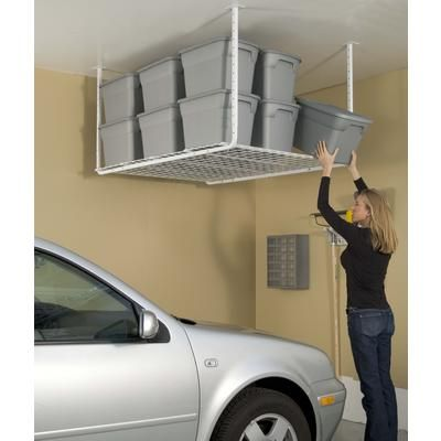 Adjustable Height Pro Ceiling Storage At The Home Depot