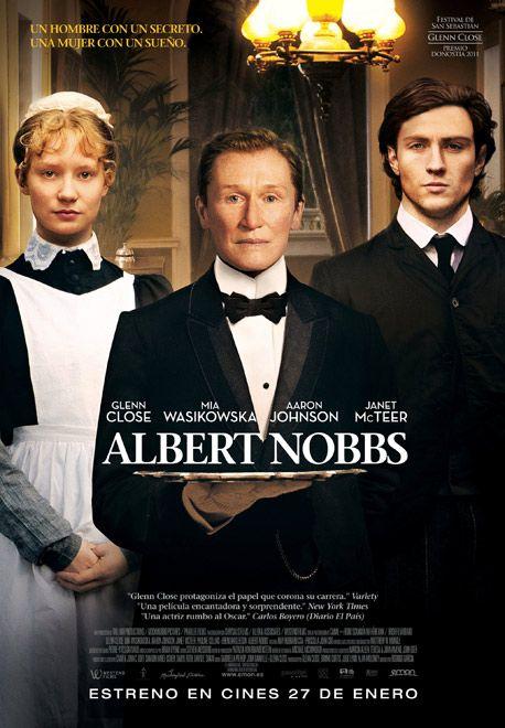 "cartel de la película ""Albert Nobbs"""