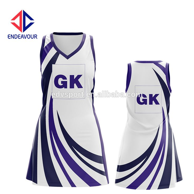 Team Girl's Fashion Appealing Look Netball Dress , Find Complete Details about…