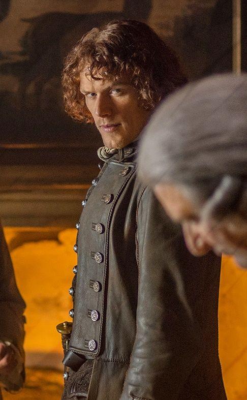"i-love-sam-heughan: "" Jamie's side-eye… """