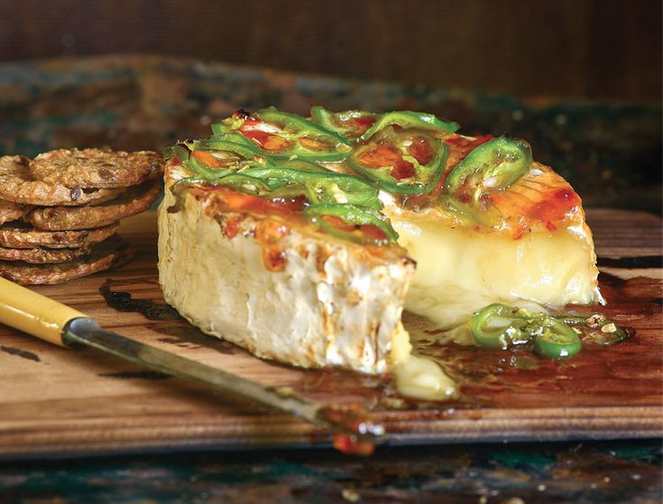 Smoked Planked Camembert -Barbecue Hall of Famer,writer and best-selling cookbook author Steven Raichlen has a new volume of recipes out that grilling enthusiasts won't want to mis