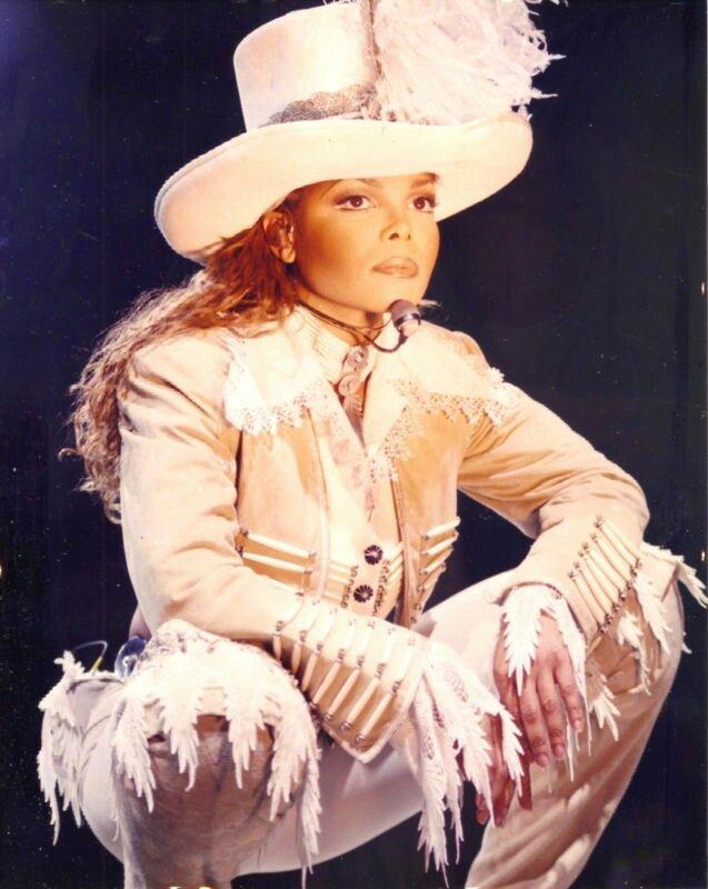 Janet Jackson World Tour Top Hat