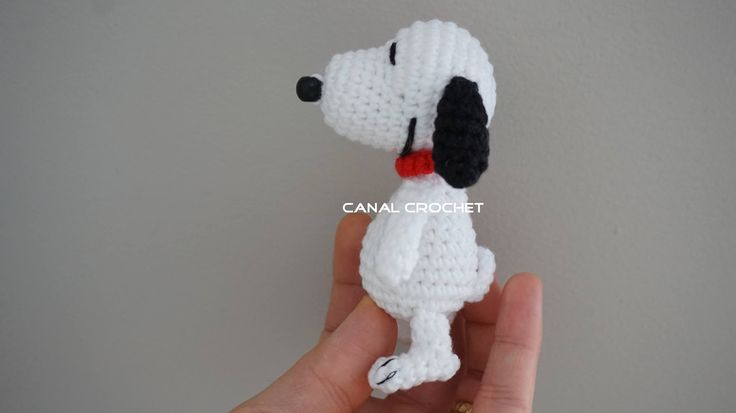 snoopy amigurumi tutorial